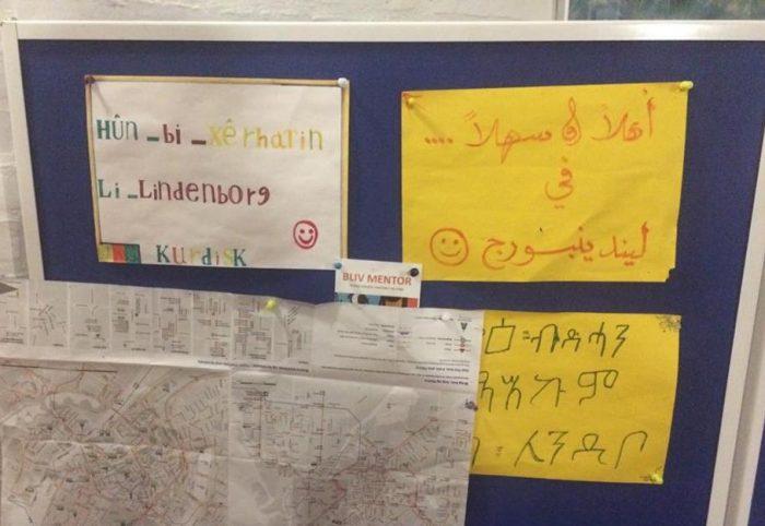 Reportage: Netværkskaffe på Lindenborg Kro integrerer lokale flygtninge