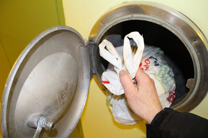 Det kan snart være slut med affaldsskakte