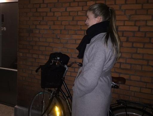 Efter styrt: Katja kører aldrig fuld på cykel igen