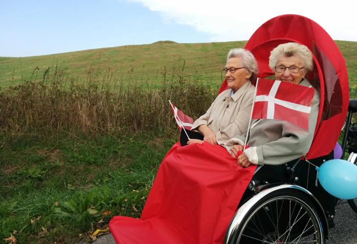 Cykelforening for ældre fejrer 4-års fødselsdag
