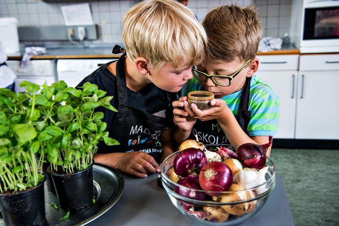 Nyt samarbejde: Ældre skal lære børn at lave mad