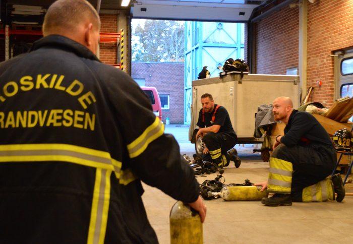 Krigsveteranen Jakob får traumerne på afstand i brandvæsenet