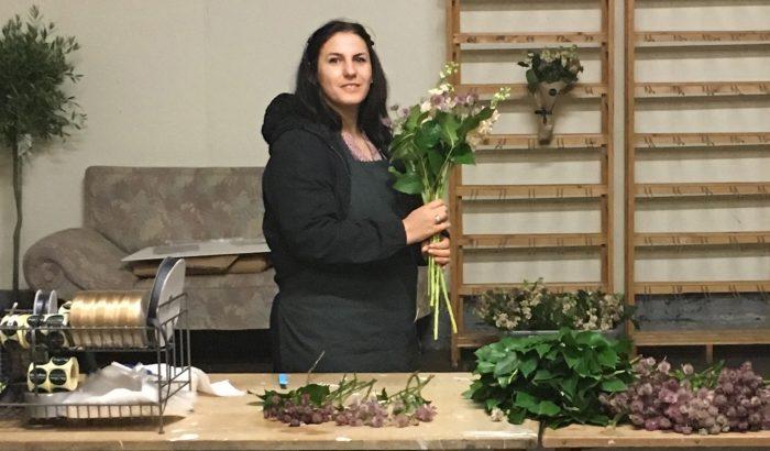 Blomster skaber jobs til flygtninge- og indvandrerkvinder