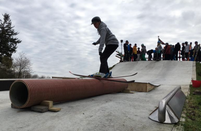 Igen i år skal skiene samle støv i København