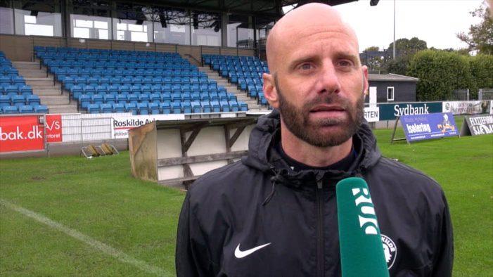 TV: Ny cheftræner skal kickstarte FC Roskildes sæson