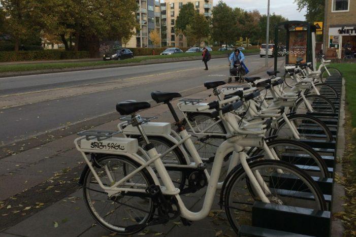 Medvinden fortsætter for de københavnske bycykler