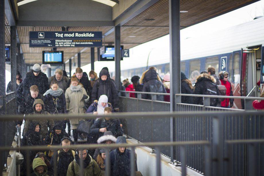 DSB's passagerer skal stå som sild i en tønde frem til påske