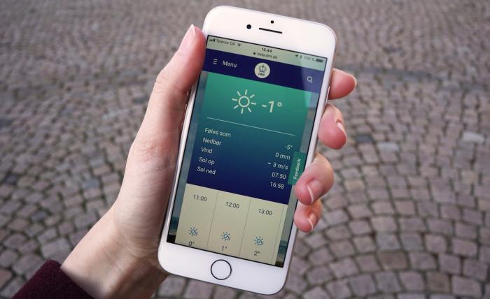 DMI gør det nemmere at forudsige vejret