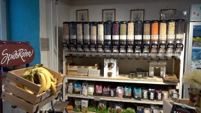 TV: Unik fødevarebutik fokuserer på bæredygtighed og veganisme