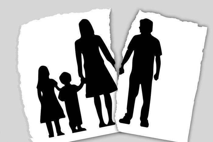 Løngab opstår, når mor og far får børn