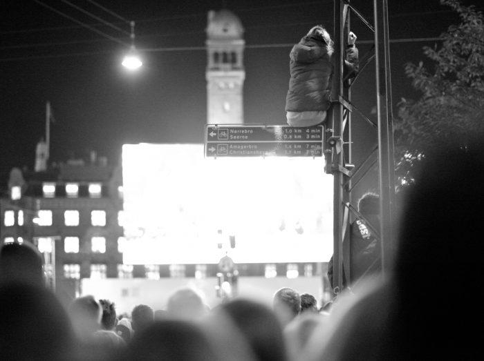 Reportage: Tusindvis af danskere hyldede ikonet Kim Larsen