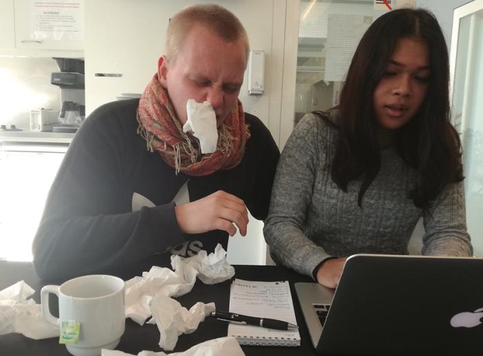 Guide: Sådan undgår du snot-epidemi på arbejdspladsen