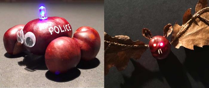 Hygge i efteråret: Sådan laver du lysende kastanjedyr