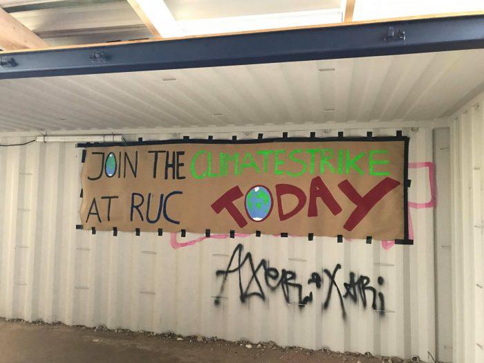 RUC-studerende strejker for klimaet