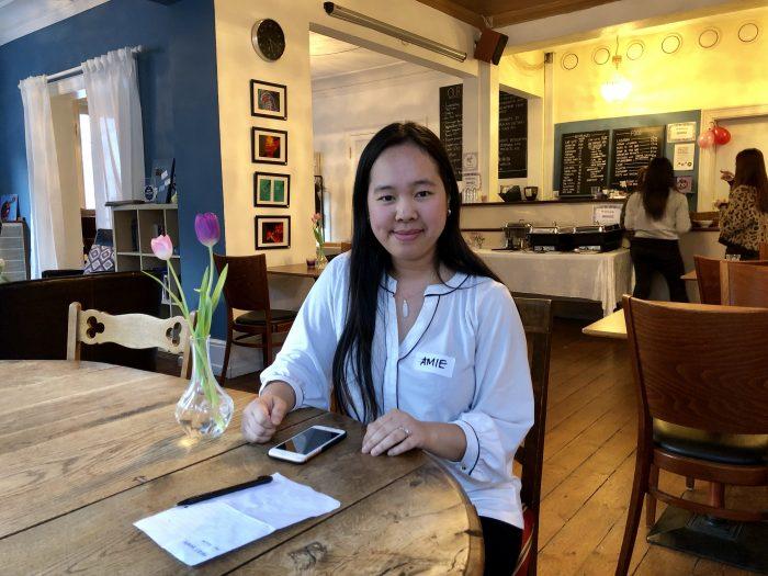 Lykkelig au pair i Holte: »Selvfølgelig skal vi lære dansk«