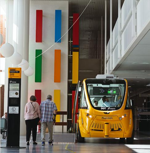 Selvkørende bus hitter – nu kører den til Slagelse