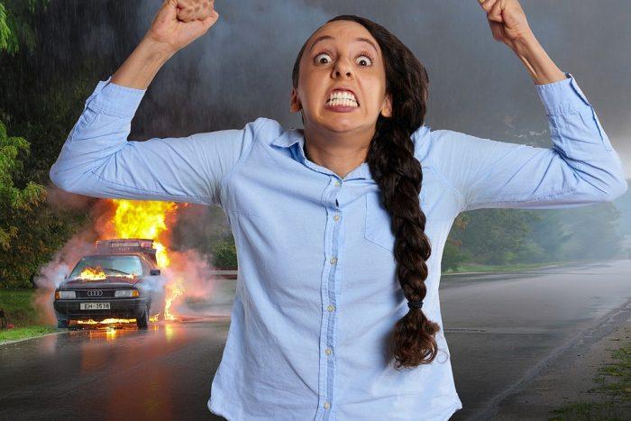 Kvinder bliver mere vrede over uforsvarlig kørsel end mænd