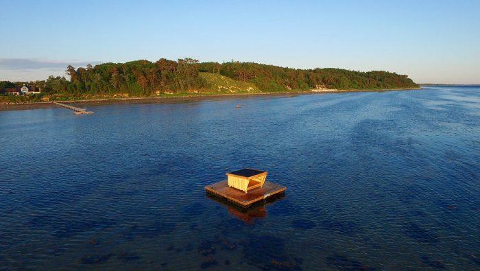 Overnatning på vandet storhitter: »Man kan jo kalde det en mikroskopisk ø«