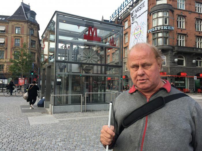 Radio: Blind metroentusiast laver guide til Cityringen