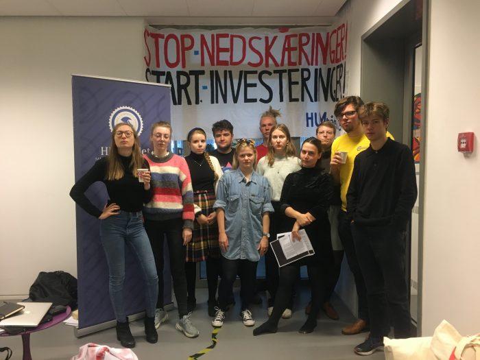 Studerende blokerer KU på fjerde døgn: Vi kan ikke blive gymnasielærere