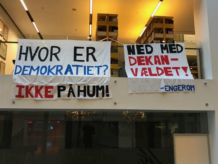 Studenteroprør: KU-studerende får støtte fra mange fronter