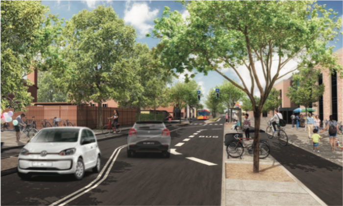 S i Roskilde: Kæmpe forandring af Københavnsvej rykker nærmere