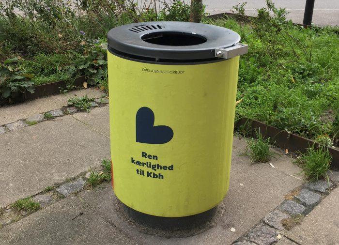 Københavnske skraldespande siger selv til, når de er fyldt