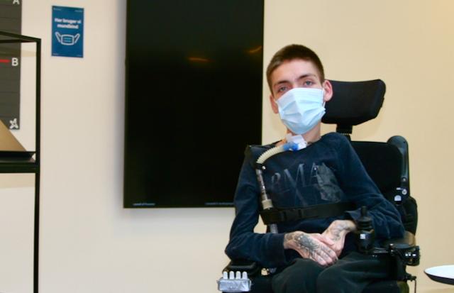 Unge handicappede går til kamp for en stemme i debatten